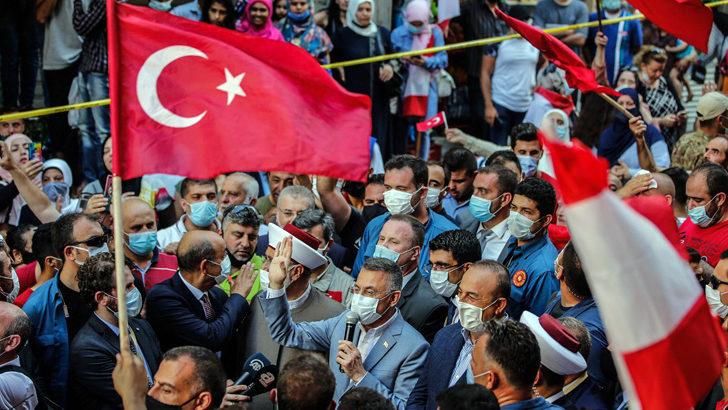 Türk heyeti Lübnan'da sevgi seliyle karşılandı