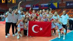 U19 Kız Voleybol Milli Takımı Avrupa Şampiyonu oldu