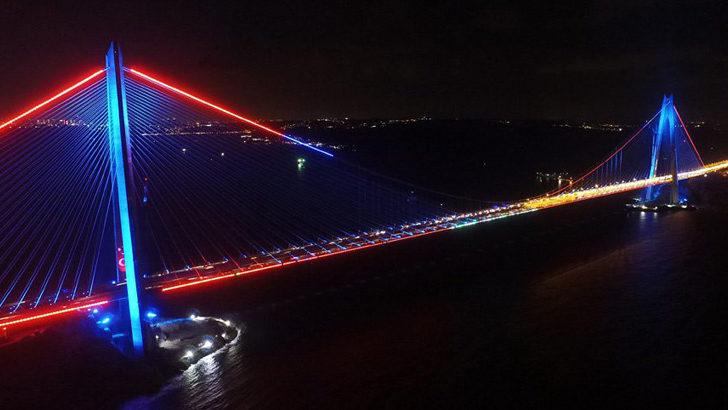 Yavuz Sultan Selim Köprüsü bakıma alındı