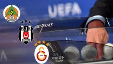Avrupa Ligi'ndeki temsilcilerimizin muhtemel rakipleri
