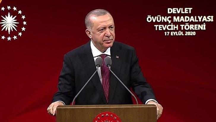 Cumhurbaşkanı Erdoğan: Türkiye'nin şantaj ve tehdide boyun eğmeyeceğini anladılar