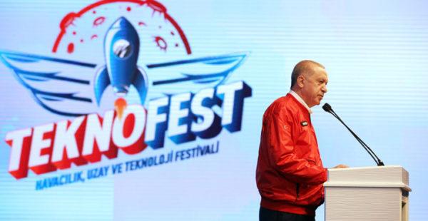 Cumhurbaşkanı Erdoğan, Teknofest 2020'de konuştu