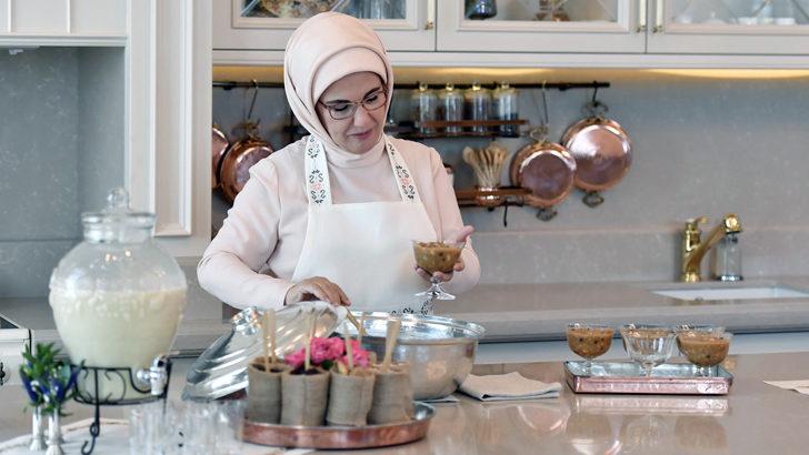Emine Erdoğan'dan gastronomi kitabı