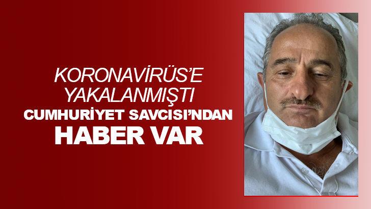 Korona'ya yakalanan Cumhuriyet Savcısı Adem Meral'den güzel haber!