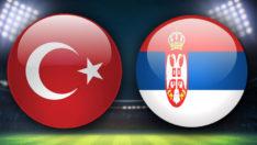 Türkiye – Sırbistan maçında ilk yarı sona erdi