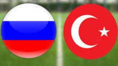A Milli Takımı, Rusya ile karşılaştı