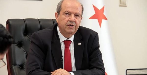KKTC'nin yeni cumhurbaşkanı Ersin Tatar: Bizlere her zaman yardım eden Türkiye'ye teşekkürü borç sayarız