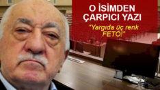 Nedim Şener yazdı: Yargıda üç renk FETÖ!